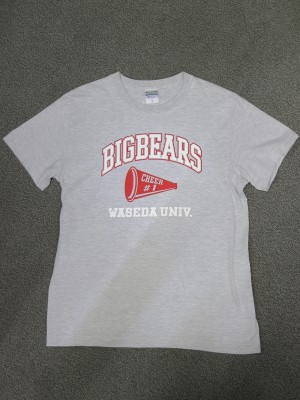 チアTシャツ製品の写真